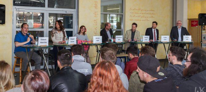 Podiumsdiskussion zur Landtagswahl