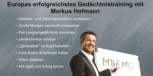 """Brain-Power-Tag"" mit Markus Hofmann"