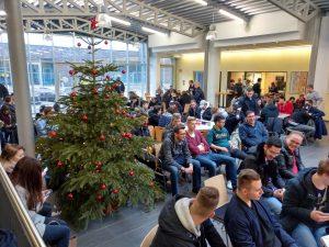 Weihnachtsfeier im Forum