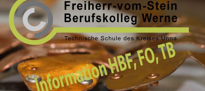 13.11. – Informationsabend FHR und AHR