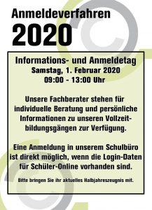 Almeldeverfahren 2020